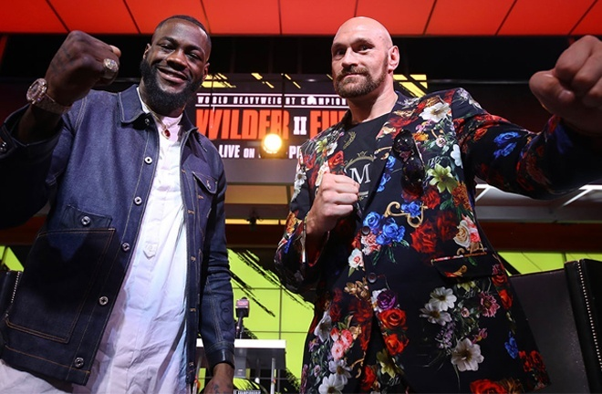 Wilder and Fury are set to meet for a third time on July 24 in Las Vegas Photo Credit: Photo Credit: Mikey Williams/Top Rank