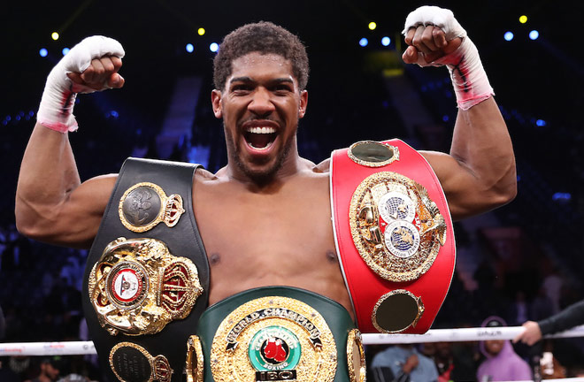 Anthony Joshua is not part of the new DAZN deal Photo Credit: Mark Robinson/Matchroom Boxing