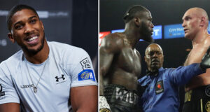 Anthony Joshua is expecting Tyson Fury to beat Deontay Wilder for a second time when they meet on July 24 in Las Vegas Photo Credit: Mark Robinson/Matchroom/Mikey Williams/Top Rank