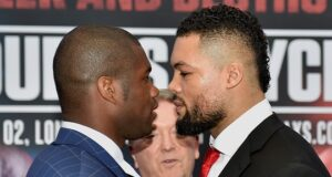 Daniel Dubois says he is keen to face Joe Joyce again ahead of his showdown with Bogdan Dinu Photo Credit: Round 'N' Bout Media/Queensberry Promotions