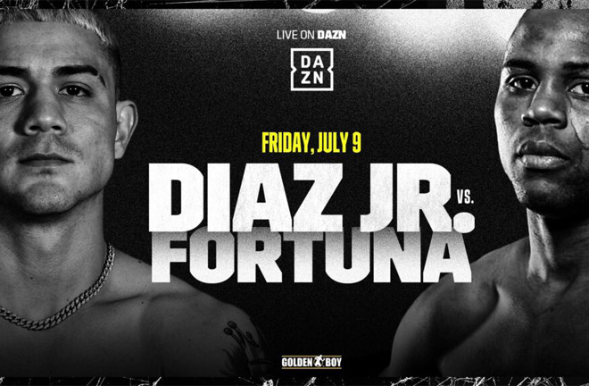 Joseph Diaz and Javier Fortuna will battle it out for the right to face Haney on July 9
