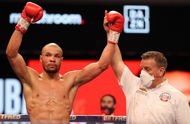 Parker would be open to a showdown with domestic rival Chris Eubank Jr Photo Credit: Mark Robinson/Matchroom Boxing