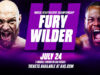 Tyson Fury and Deontay Wilder will meet for a third time at the T-Mobile Arena in Las Vegas on July 24