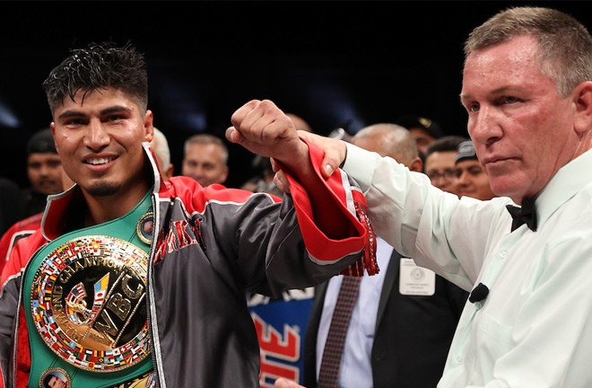 Mikey Garcia has won world titles in four weight classes Photo Credit: Ed Mulholland/Matchroom Boxing USA
