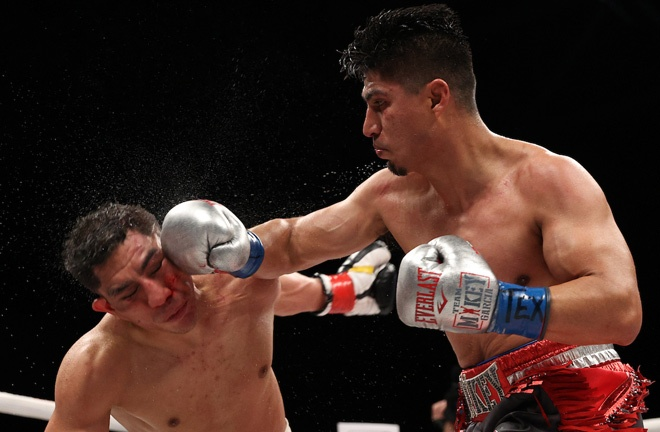 Garcia has not competed since beating Jessie Vargas in February 2020 Photo Credit: Ed Mulholland/Matchroom Boxing USA