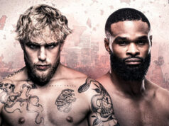 Jake Paul has announced that he will tackle ex UFC champion Tyron Woodley on August 28 on SHOWTIME PPV