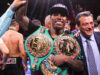 Jermall Charlo successfully defended his WBC Middleweight world title for a fourth time in Houston on Saturday Photo Credit: Leo Wilson / Premier Boxing Champions