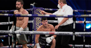 Joe Laws says he will come back stronger following his first professional defeat to Rylan Charlton in October Photo Credit: Mark Robinson/Matchroom Boxing