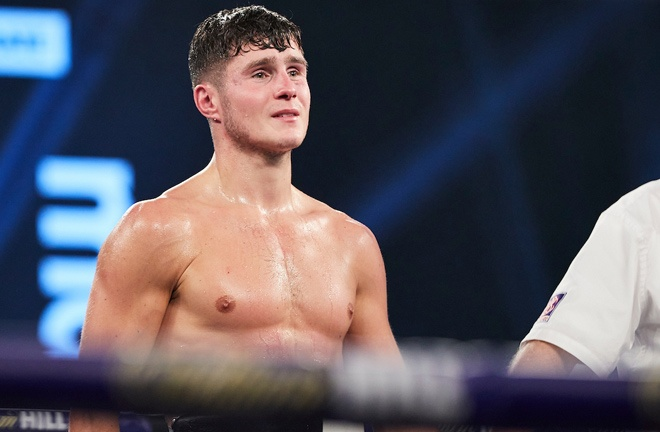 Laws was left devastated after his loss Photo Credit: Mark Robinson/Matchroom Boxing