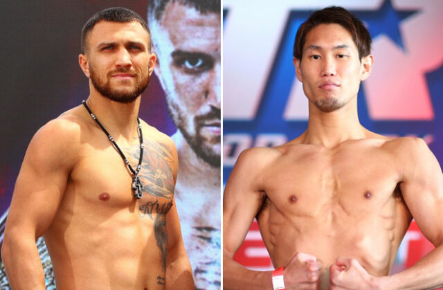 Vasiliy Lomachenko returns against Masayoshi Nakatani in Las Vegas on Saturday night Photo Credit: Mikey Williams/Top Rank