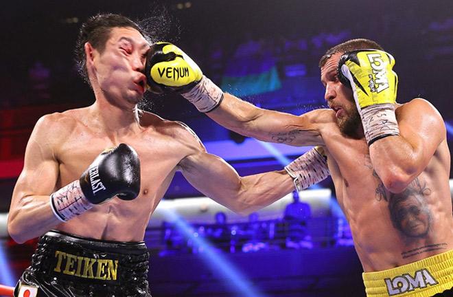 Vasiliy Lomachenko returned to winning ways with victory over Masayoshi Nakatani Photo Credit: Mikey Williams/Top Rank via Getty Images