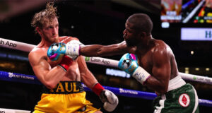 Floyd Mayweather and Logan Paul generated over 1m pay-per-view buys in the USA during their exhibition, according to reports Photo Credit: Amanda Westcott/SHOWTIME
