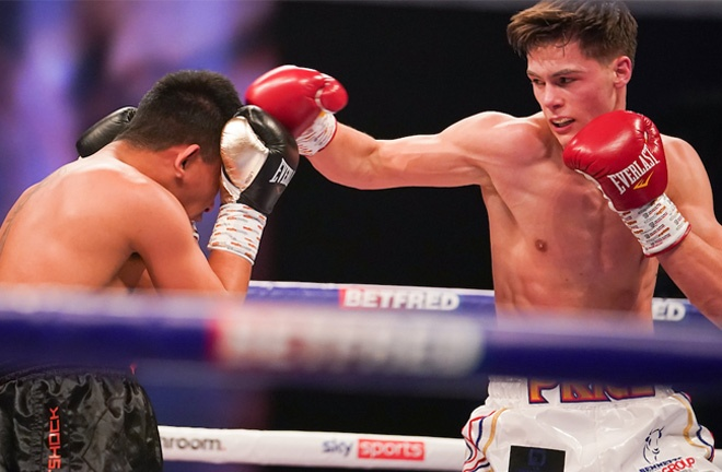 Price secured his fourth professional victory over Daniel Mendoza in March Photo Credit: Dave Thompson/Matchroom