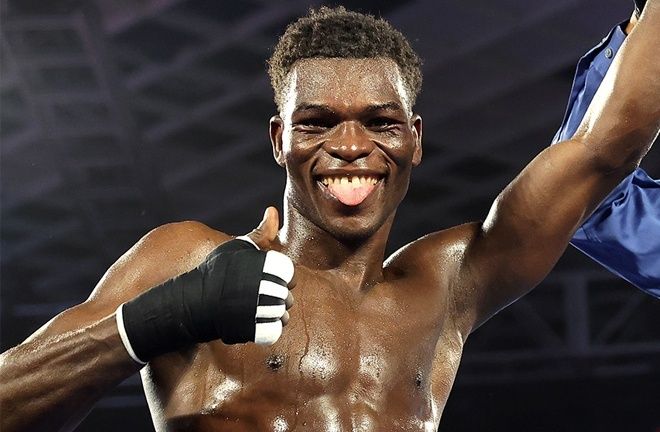 Commey is highly rated in two of the four governing bodies Photo Credit: Mikey Williams/Top Rank via Getty Images
