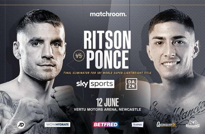 Watch Lewis Ritson vs. Jeremias Ponce 2021 6/12/21