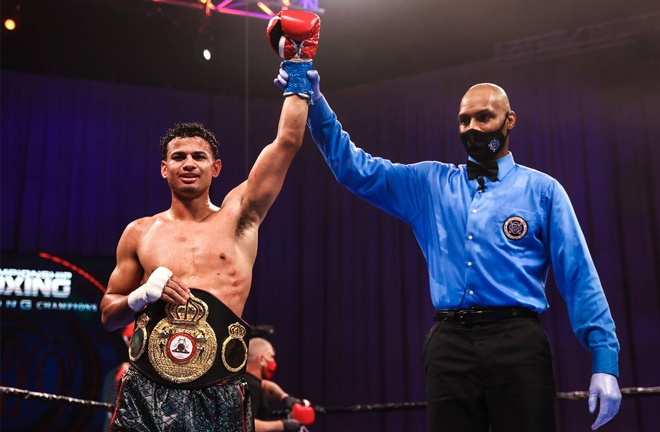 Rolando Romero holds the WBA interim Lightweight title Photo Credit: Amanda Westcott/SHOWTIME