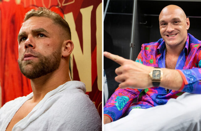 Tyson Fury is keen to see Billy Joe Saunders fight again amid retirement talk Photo Credit: Michelle Farsi/Matchroom
