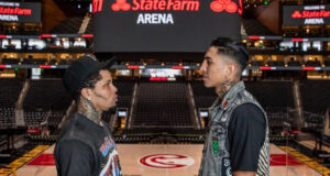 Gervonta Davis and Mario Barrios will clash in Atlanta on Saturday for the WBA 'Regular' Super Lightweight title Photo Credit: Esther Lin/SHOWTIME
