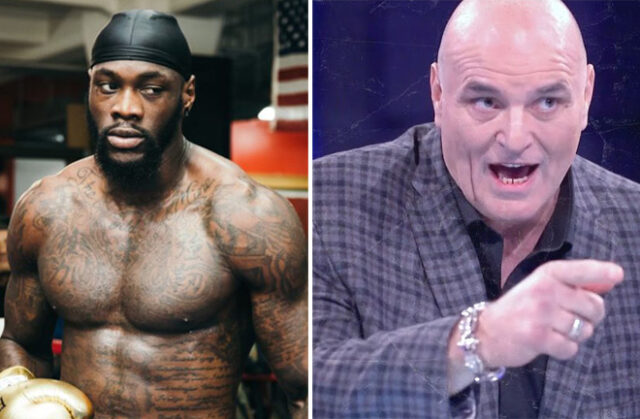 Deontay Wilder has responded to John Fury's comments on his trilogy with Tyson Fury Photo Credit: Amanda Westcott/SHOWTIME/BT Sport Boxing