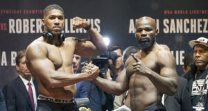 Carlos Takam says he has unfinished business with Anthony Joshua ahead of his clash with Joe Joyce Photo Credit: Esther Lin/SHOWTIME