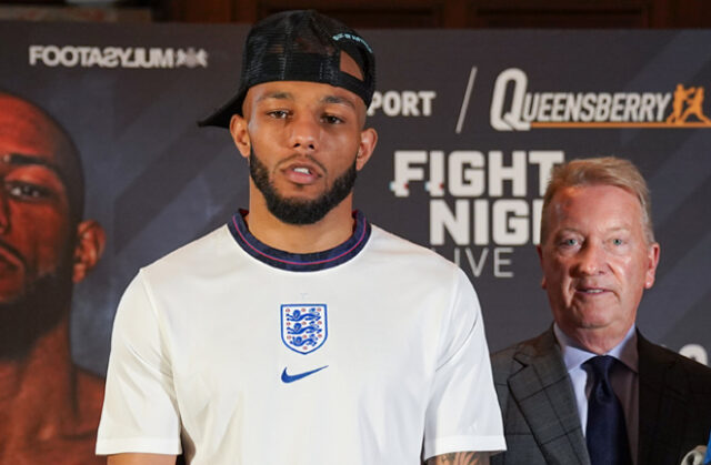 Lyndon Arthur is keen to fight at Old Trafford in the future and in the USA Photo Credit: Round 'N' Bout Media/Queensberry Promotions