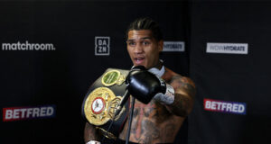 Conor Benn has world title ambitions ahead of his showdown against Adrian Granados on Saturday Photo Credit: Mark Robinson/Matchroom Boxing