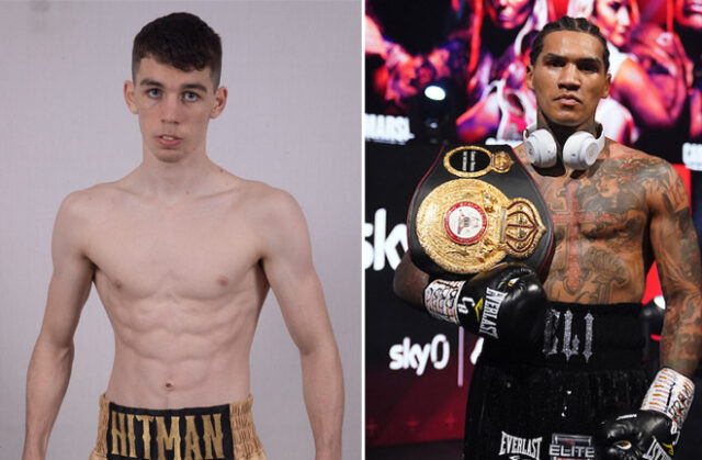 Stephen McKenna is keen to face Conor Benn Photo Credit: Lawrence Lustig/Hennessy Sports/Dave Thompson/Matchroom Boxing