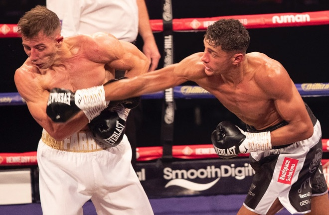 Wilson-Bent has stopped his last three opponents Photo Credit: Hennessy Sports/Lawrence Lustig