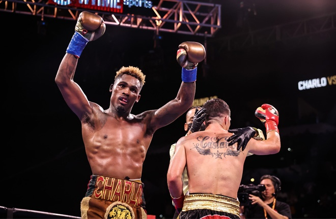 There could be calls for a rematch after both men felt they had done enough to win Photo Credit: Amanda Westcott/SHOWTIME