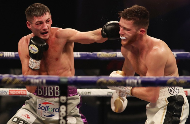 Cullen claimed a unanimous decision victory over John Docherty in November Photo Credit: Mark Robinson/Matchroom Boxing