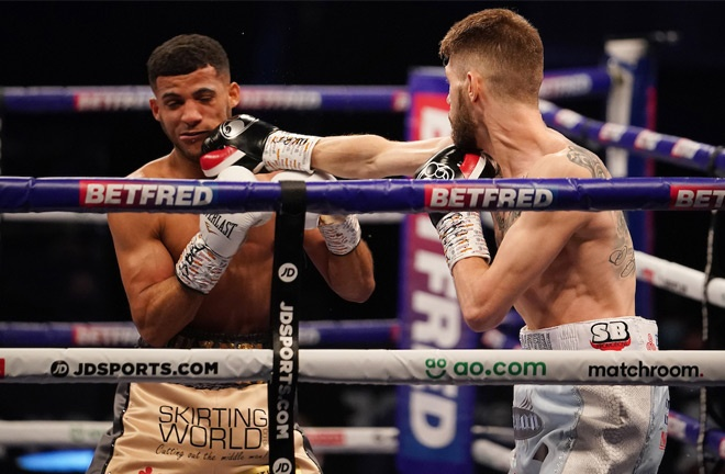 Cunningham beat Yafai last time out to become European champion Photo Credit: Dave Thompson/Matchroom Boxing