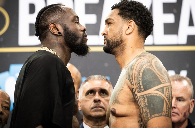 Dominic Breazeale has faced both Deontay Wilder and Anthony Joshua both in defeat Photo Credit: Amanda Westcott/SHOWTIME