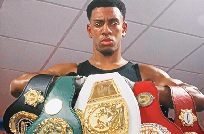 Taylor won five regional belts as an amateur Photo Credit: By BoxingUp1 - Own work, CC BY-SA 4.0, https://commons.wikimedia.org/w/index.php?curid=99045575