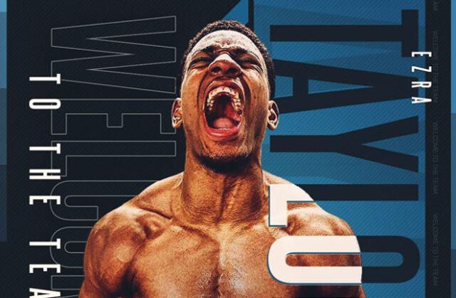 Light Heavyweight prospect Ezra Taylor has signed a promotional deal with Frank Warren