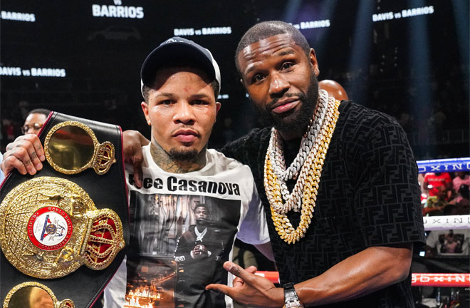 Romero and Tank are both promoted by Floyd Mayweather Jr Photo Credit: Sean Michael Ham/Mayweather Promotions