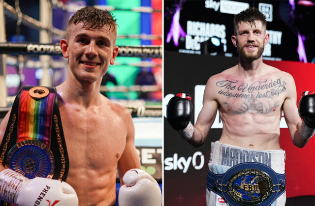 Brad Foster and Jason Cunningham will clash for the British, Commonwealth and European Super Bantamweight titles on August 28th in Birmingham Photo Credit: Round 'N' Bout Media/Queensberry Promotions/Dave Thompson/Matchroom Boxing