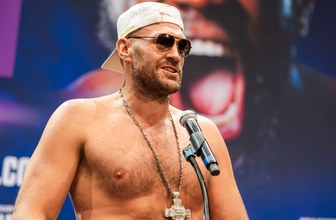 Fury insists he is not to blame for the COVID outbreak in his camp Photo Credit: Ryan Hafey / Premier Boxing Champions