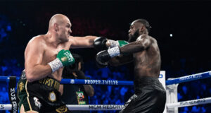 Tyson Fury will face Deontay Wilder for a third time on October 9th in Las Vegas Photo Credit: Ryan Hafey/Premier Boxing Champions
