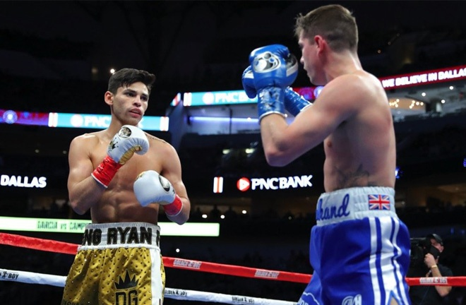 The Brit's final fight came in a seventh round defeat to Ryan Garcia in January Photo Credit: Tom Hogan-Hogan Photos/Golden Boy