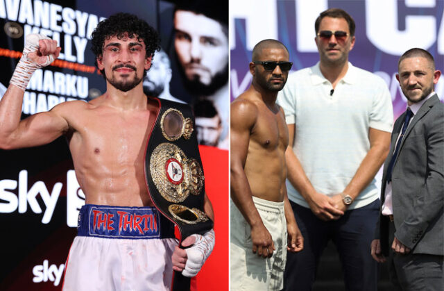 Jordan Gill says the victor of the IBF world title clash between Kid Galahad and Jazza Dickens is a future fight for him Photo Credit: Mark Robinson/Matchroom Boxing
