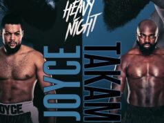 Joe Joyce meets Carlos Takam at the SSE Arena on Saturday night