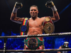 Joe Joyce is being lined up for an October return by promoter Frank Warren after beating Carlos Takam on Saturday Photo Credit: Queensberry Promotions