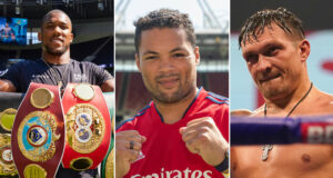 Joe Joyce is mandatory to face the winner of Anthony Joshua and Oleksandr Usyk and would like his shot at the Emirates Stadium Photo Credit: Mark Robinson/Matchroom Boxing/Queensberry Promotions/Dave Thompson/Matchroom Boxing