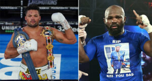 Joe Joyce faces Carlos Takam on July 24th at the SSE Arena Photo Credit: Round 'N' Bout Media/Queensberry Promotions/Mikey Williams/Top Rank