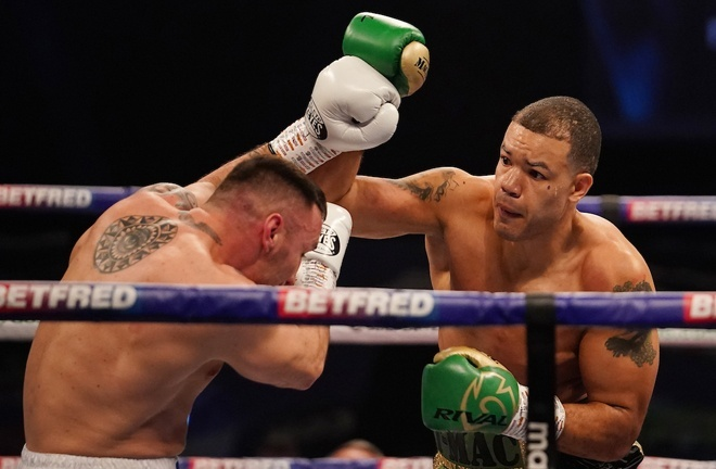 McCarthy stopped Alexandru Jur in May to retain his European cruiserweight title Photo Credit: Dave Thompson/Matchroom Boxing