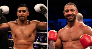 Amir Khan has given his reasons for why a Kell Brook failed to materialise in both of their primes Photo Credit: Mark Robinson/Matchroom Boxing