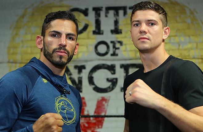 Campbell challenged Jorge Linares for the WBA lightweight world title in 2017 Photo Credit: Tom Hogan-Hogan Photos/Golden Boy