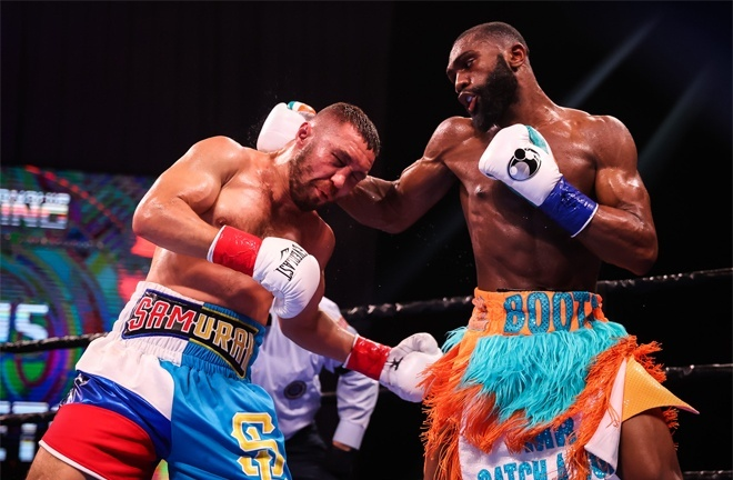 Sergey Lipinets was stopped by Jaron Ennis in April Photo Credit: Amanda Westcott/SHOWTIME