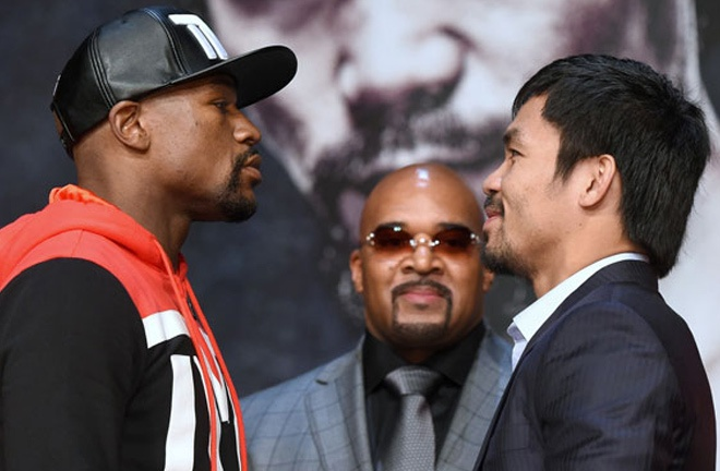 Pacquiao says Spence does not require advice from Floyd Mayweather Jr Photo Credit: Naoki Fukuda