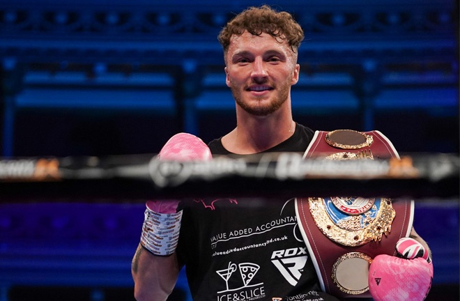 Parker cemented his position as the WBO Super Middleweight number one contender Photo Credit: Round 'N' Bout Media/Queensberry Promotions